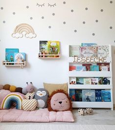 Children's room ideas for feel-good stalls: how it works! - Our reading corner in the children's room - Baby Bedroom, Baby Boy Rooms, Baby Room Decor, Nursery Room, Girls Bedroom, Nursery Decor, Nursery Furniture, Nursery Ideas, Playroom Ideas