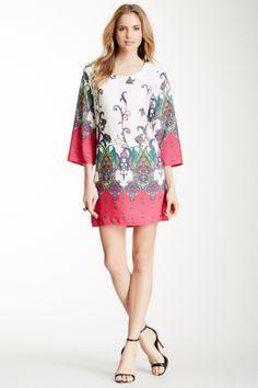 Paisley Print Dress on HauteLook