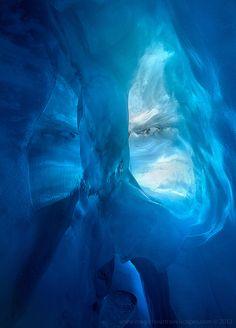 Blue Cave, Fox Glacier,  New Zealand | Kah Kit Yoong