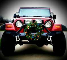christmas jeep - Jeep Christmas Decorations