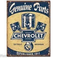 Chevrolet Genuine Parts Tin Sign #chevy #retro  http://www.retroplanet.com/PROD/32858