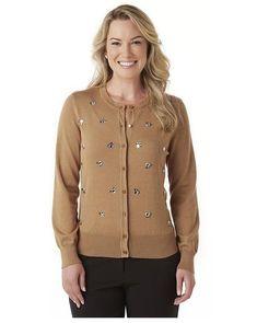 Covington Womens Cardigan Sweater Embellished Long Sleeves size S L XL NEW  https://www.ebay.com/itm/Covington-Womens-Cardigan-Sweater-Embellished-Long-Sleeves-size-S-L-XL-NEW-/253449625905?var=&hash=item80aac73b6d