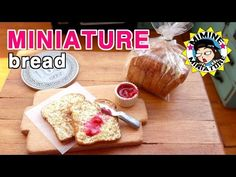 미니어쳐 식빵 만들기 miniature- Bread - YouTube