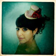 Childrens Alice in Wonderland  Top Hat  Pink and by TwoBackFlats, $80.00