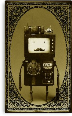 Steampunk B-MO Adventure time.