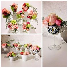 Cup on feet @ PIET Moodshop Gent Glass Vase, Table Decorations, Flowers, Plants, Cook, Recipes, Design, Home Decor, Floral Arrangements