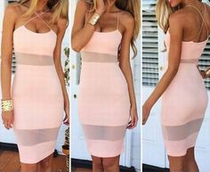 Sweet Slim Sexy Vest Dress