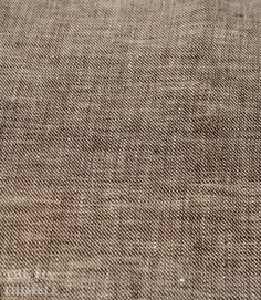Brown 100% Linen   1 Yard  Fabric / Fabric by by TheTinThimble
