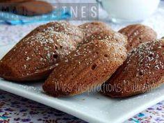 Madeleines au chocolat, recette facile