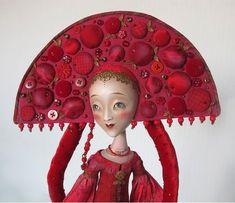 (+2) Авторские куклы Анны Зуевой