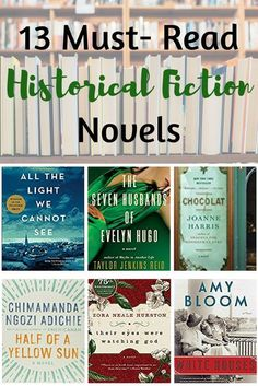 Find inspiration for the next book to read with these historical fiction novels. Must read books and reading recommendations. #HistoricalFiction #Reading #Bookworm