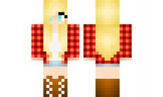 minecraft skin red-check-cowgirl Find it with our new Android Minecraft Skins App: https://play.google.com/store/apps/details?id=the.gecko.girlskins