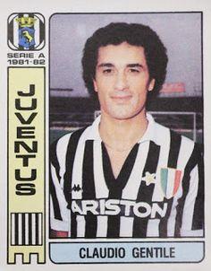Claudio Gentile of Juventus in 1981.