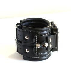 Wrist watch leather bracelet Caribs Steampunk by dganin on Etsy