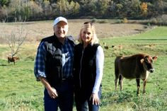 Dick and Kim Cates operate Cates Family Farm, a grass-fed farm near Spring Green in Iowa County. The farm includes 700 acres of managed grazing land and 200 acres of managed forest. They direct market their pasture-raised steers to grocery stores, restaurants, cafeterias and households around southern Wisconsin and the Chicago area.