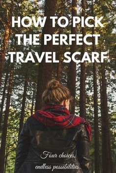 Heading out the door? Here's how to pick the perfect travel scarf for any trip!  http://www.valisemag.com/?p=7544