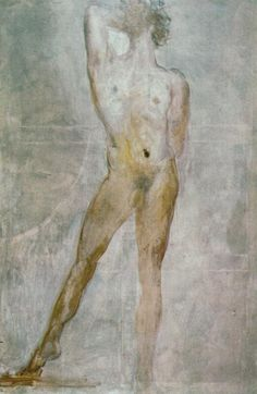 Study of a Male Nude - Saint Sebastian - Dali Salvador Salvador Dali Gemälde, Salvador Dali Paintings, Dali Quotes, St Sebastian, Body Picture, Les Religions, Spanish Artists, Art Moderne, Male Figure