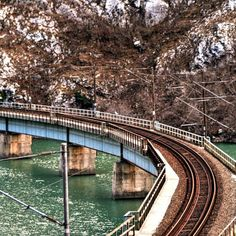 Bridge over Neretva River beautiful canyon of Neretva all of those who travel with train can enjoy in magnificent nature. #likebosnia #bosniaandherzegovina #bosnia #herzegovina #canyon #nature #wanderlust #bridge #trainbridge #neretva #neretvariver #travel #river