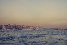 Sunset on the Bosporus by Patricia Hofmeester on Creative Market