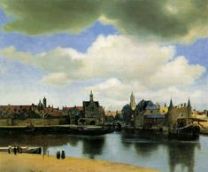 View of Delft (c. 1660-1661)  Oil on canvas, 96,5 x 115,7 cm  Mauritshuis, The Hague