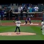 50 Cent Throws Worst First Pitch In History [VIDEO]
