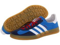 adidas Originals Gazelle Indoor Bluebird/White/St Dark Slate - Zappos.com Free Shipping BOTH Ways