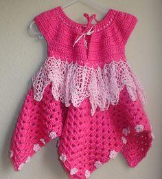 Ravelry: Дива Raiyah Детские платья модель по Aundie Молина