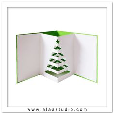 Pop out tree card 1