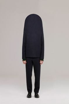 Normcores value seclusion making body observance impossible for others. Sweater by Christian Heikoop