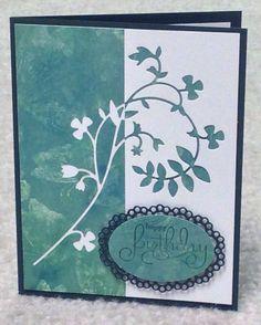 Memory Box vine die card