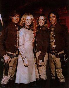 Starbuck, Cassie, Sheba, Apollo