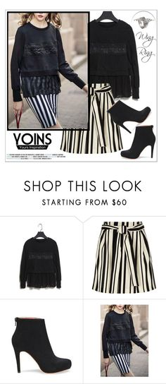 """Yoins"" by water-polo ❤ liked on Polyvore featuring River Island, women's clothing, women's fashion, women, female, woman, misses, juniors, polyvoreeditorial and yoins"