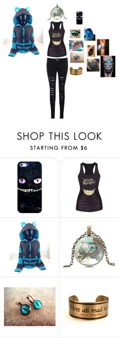 """cheshire cat"" by yasi-bear246 on Polyvore featuring Casetify"