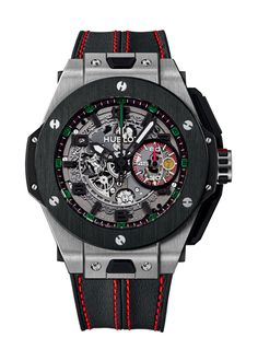 Big Bang Ferrari 25th anniversary Dubai 45mm Chronograph watch from Hublot
