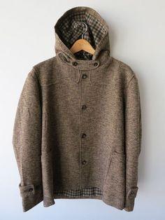 Frank Leder Wool Hoody Coat