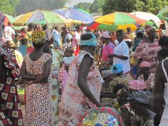Market Day in Mansoa, Guinea-Bissau African Life, African States, World Thinking Day, Places Of Interest, West Africa, The Republic, Sierra Leone, My People, Marketing