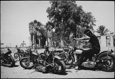 Guy With 5 Hogs. Photo Dennis Hopper 1967 http://ift.tt/2gMHtd5