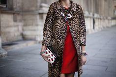 Something wild | Paris Fashion Week Spring 2013 | Vogue.es Street Style