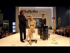 Patrick Cameron for BaByliss PRO at Salon International 2012 - YouTube