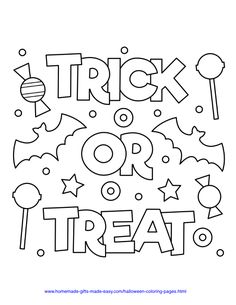 Coloring Pages Easy 50 Free Halloween PDF Printables coloring Candy Coloring Pages, Spider Coloring Page, Monster Coloring Pages, Unicorn Coloring Pages, Coloring Pages For Kids, Coloring Books, Dinosaur Coloring, Pokemon Coloring, Kids Coloring