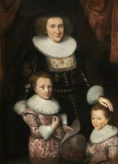 BBC - Your Paintings - Jean, Countess of Perth, with Her Two Sons