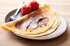crepes... Don't forget the bananas and Nutella!