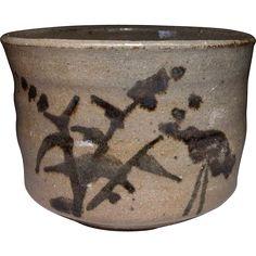 Japanese Vintage Karatsu-yaki 唐津焼き Chawan or Tea bowl at the @ManyFacesofJapan @sharonmeredith on Ruby Lane! on Ruby Lane's 48 hour Red Tag Sale January 27!