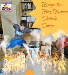 The Fiery Furnace Bible story- Crafts, activities, snacks and free printables