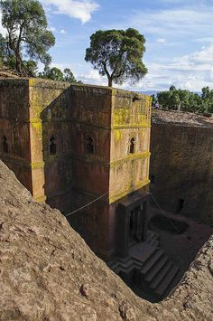 Bet Giyorgis / St. Georg in Lalibela, Äthiopien