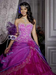 Lindos vestidos de 15 a 241 os estilo princesa moda 2014 more