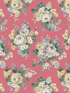 Norfolk Rose | Dramatic roses inspired by antique textiles and made modern with unusual colours | Cath Kidston Autumn Winter 2016 |