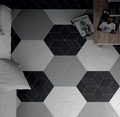 Tile Space has thousands of designer tiles from all over the world. Our ranges are suitable for every type of tile installation from a mosaic tile splashback to bathroom floor tiles and everything in between. Rhombus Tile, Hexagon Tiles, Tile Patterns, Textures Patterns, Decorative Wall Tiles, 3d Tiles, Tile Manufacturers, House With Porch, Wet Rooms