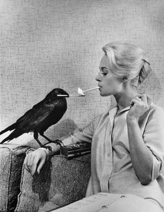 Philippe Halsman USA. LA. Hollywood. 1962. Tippi HEDREN.
