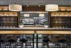 SF TECH COMPANY FOOD HALL | AvroKo | A Design and Concept Firm
